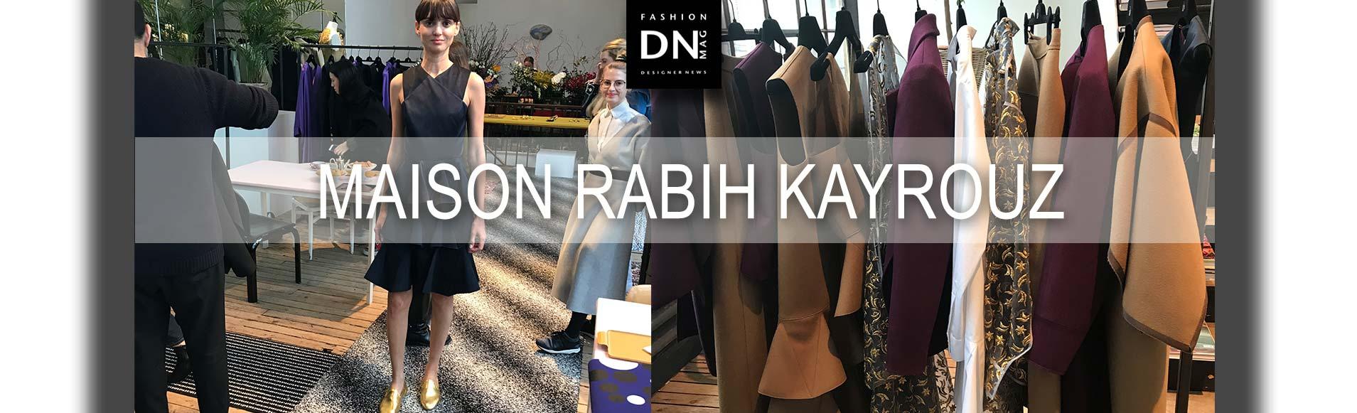 Maison Rabih Kayrouz RTW19