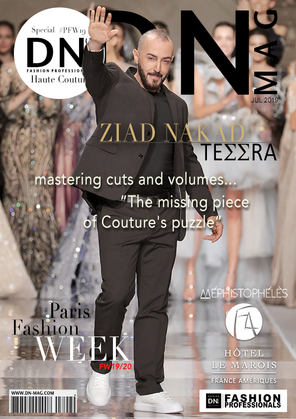 Magazine cover DNMAG : ZIAD-NAKAD-Couture-FW2019-20-DNMAG-a4-cover