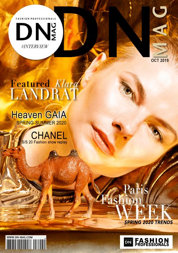 KLARA-LANDRAT - FASHION MAGAZINE COVER-october-interview-2019
